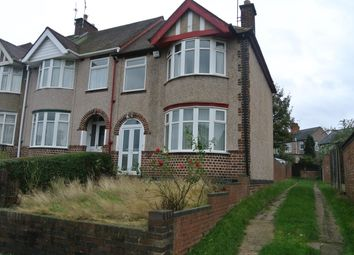 Thumbnail 3 bed end terrace house to rent in Lanchester Road, Coventry