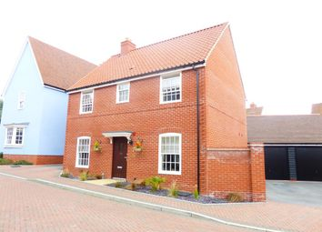 Thumbnail 4 bed detached house for sale in Pikes Marsh, Bures