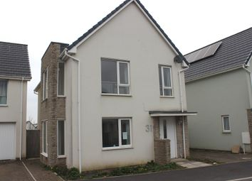 Thumbnail 4 bed detached house for sale in Yellowmead Road, Plymouth
