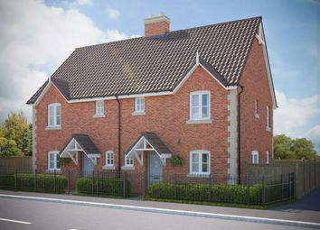 Thumbnail 2 bed semi-detached house for sale in St Peters Road, Portishead, North Somerset