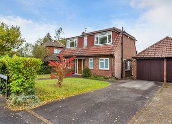 Thumbnail 3 bed detached house for sale in Summersbury Drive, Shalford, Guildford