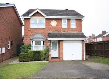 Thumbnail 4 bed detached house for sale in Jacks Walk, Hugglescote, Coalville