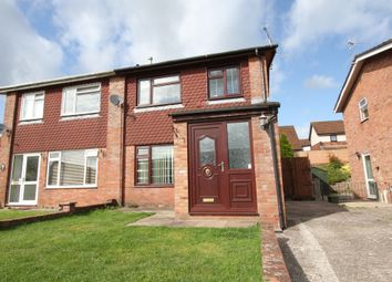 Thumbnail 3 bed semi-detached house for sale in The Downhams, Wyesham, Monmouth