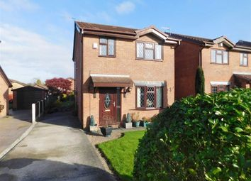 Thumbnail 3 bed detached house for sale in Lombard Close, Bredbury, Stockport