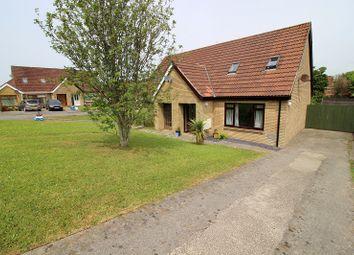 Thumbnail 3 bed semi-detached house for sale in Foxfields, Brackla, Bridgend.