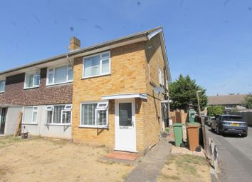 Thumbnail 2 bed flat for sale in St. Albans Road, Sutton