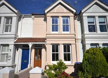 Thumbnail 3 bed terraced house for sale in Gordon Road, Worthing, West Sussex