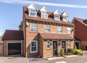 Thumbnail 3 bed semi-detached house for sale in Chilworth Way, Sherfield-On-Loddon, Hook, Hampshire