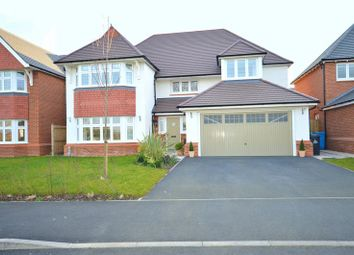 Thumbnail 4 bed detached house for sale in Hornsmill Avenue, Widnes