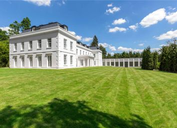 Thumbnail 8 bedroom detached house for sale in Woodlands Road West, Virginia Water, Surrey