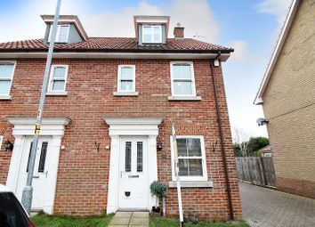 Thumbnail 3 bed semi-detached house for sale in Bradfield Drive, Martham, Great Yarmouth