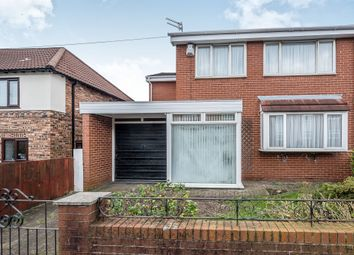 Thumbnail 4 bed semi-detached house for sale in Gourley Road, Wavertree, Liverpool