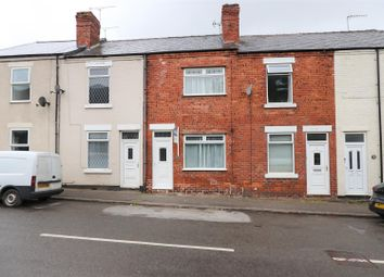 Thumbnail 2 bed terraced house for sale in Station Road, North Wingfield, Chesterfield