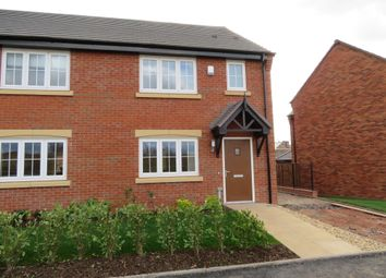 Thumbnail 3 bed semi-detached house to rent in Oak Way, Streethay, Lichfield