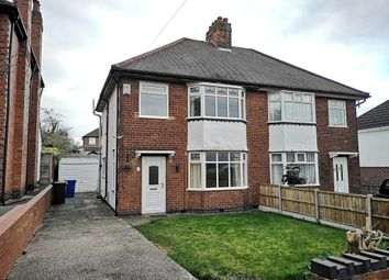 Thumbnail 3 bed semi-detached house for sale in Lyndham Avenue, Burton-On-Trent