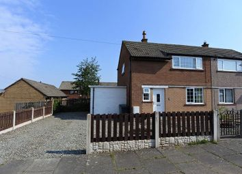 Thumbnail 2 bed semi-detached house for sale in Highfield Avenue, Carlisle