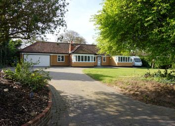 Thumbnail 5 bedroom detached bungalow for sale in The Street, Capel St Mary, Ipswich, Suffolk