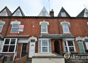 Thumbnail 4 bedroom terraced house for sale in Harrow Road, Birmingham, West Midlands.