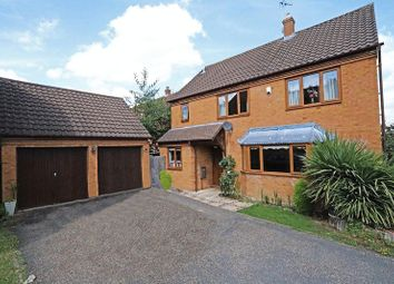 Thumbnail 4 bed detached house for sale in Longleat Court, Great Holm, Milton Keynes