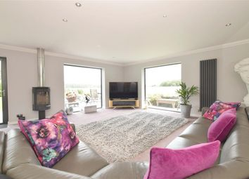 Thumbnail 4 bed detached house for sale in West Ashling Road, Hambrook, Chichester, West Sussex