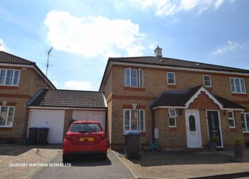 Thumbnail 3 bed semi-detached house for sale in Ridgeways, Church Langley