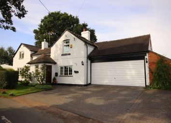 Thumbnail 4 bed detached house for sale in Monks Lane, Hankelow, Nantwich