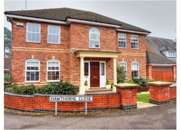 Thumbnail 4 bed detached house for sale in Hawthorne Close, Stretton Hall