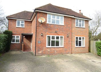 Thumbnail 5 bed detached house for sale in Queens Avenue, Byfleet