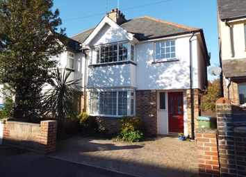 Thumbnail 3 bed semi-detached house for sale in Havelock Road, Bognor Regis, West Sussex
