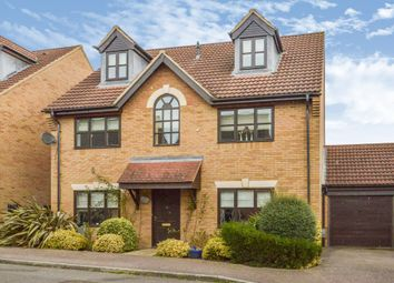 Thumbnail 5 bed detached house for sale in Exbury Lane, Westcroft, Milton Keynes
