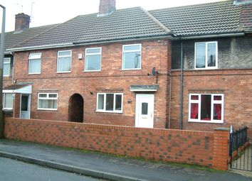 Thumbnail 3 bed terraced house to rent in Holmes Carr Crescent, Rossington, Doncaster