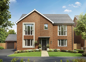 Thumbnail 5 bed detached house for sale in Weogoran Park, Off Whittington Road, Worcester