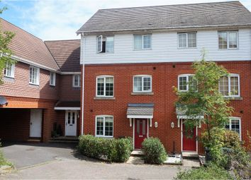Thumbnail 4 bed terraced house for sale in Swaffer Way, Ashford