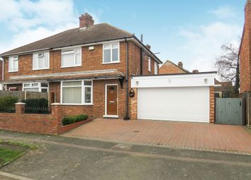 Thumbnail 3 bed semi-detached house for sale in South Avenue, Elstow, Bedford