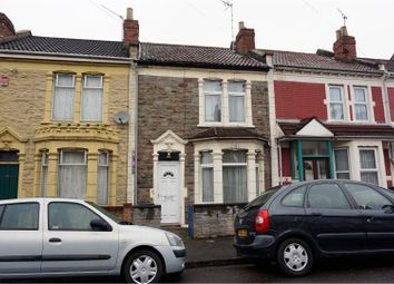 Thumbnail 3 bed terraced house for sale in Sandholme Road, Brislington