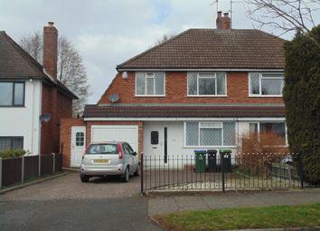 Thumbnail Semi-detached house for sale in Grove Vale Avenue, Birmingham