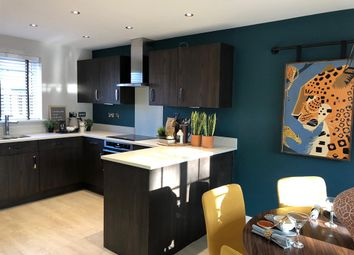 "Thumbnail 3 bedroom detached house for sale in ""The Clayton"" at Haverhill Road, Little Wratting, Haverhill"