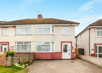 Thumbnail 3 bed semi-detached house for sale in Osborne Road, Willesborough, Ashford, Kent