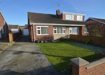 Thumbnail 2 bed semi-detached bungalow for sale in Elvaston Avenue, Hornsea, East Yorkshire