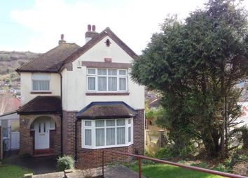 Thumbnail 3 bed detached house for sale in Folkestone Road, Dover, Kent