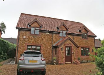 Thumbnail 4 bed detached house for sale in Chequers Close, Grimston, King's Lynn, Norfolk