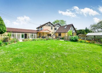 Thumbnail 4 bed detached house for sale in The Causeway, Woolavington, Bridgwater