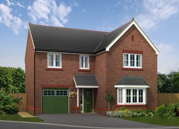 Thumbnail 4 bedroom detached house for sale in Plot 8, Biddulph Road, Congleton, Cheshire