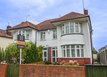 3 bed semi-detached house for sale in Hobleythick Lane, Westcliff-On-Sea, Essex SS0