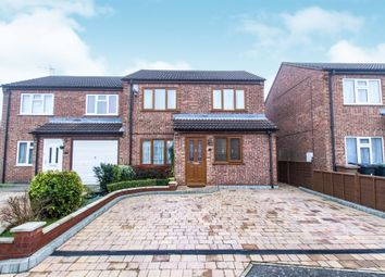 Thumbnail 4 bed semi-detached house for sale in Larch Way, Sleaford