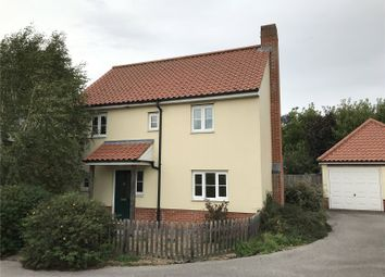 Thumbnail 3 bed detached house to rent in Wood Yard, East Harling, Norwich