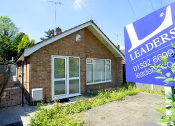 Thumbnail 2 bed detached bungalow to rent in Browning Street, Derby