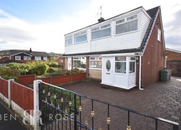 Thumbnail 3 bedroom semi-detached bungalow for sale in Bagganley Lane, Chorley