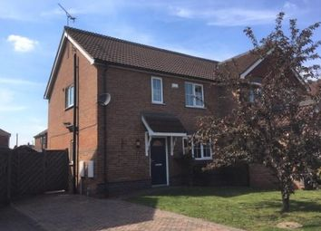 Thumbnail 3 bed semi-detached house to rent in Coverdale Road, Scunthorpe