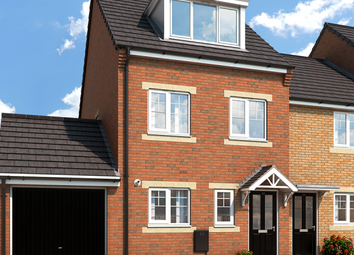 "Thumbnail 3 bedroom property for sale in ""The Sycamore At Sheraton Park"" at Main Road, Dinnington, Newcastle Upon Tyne"